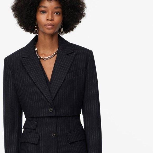 Zara Limited Edition Cropped Blazer